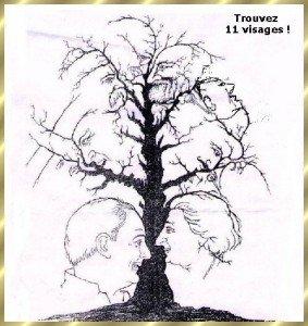 jeu -Peinture -Trouvez 11 visages  dans Jeu 11-visages-2-283x300