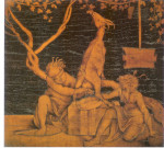 Mythologie grecque associée à l'enfance de Zeus. dans HISTOIRES A MEDITER Amalthée-150x135