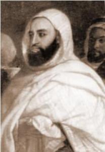 RELATIONS ALGÉRO-RUSSES  De l'Emir Abdelkader à Medvedev LEmir-Abdelkader-en-exil-à-Damas-a-été-décoré-de-lordre-russe-dAigle-blanc-208x300