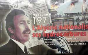 Le 24 février 1971,Boumediène Nationalise les hydrocarbures et met fin au «rêve saharien» dans Houari BOUMEDIENE HOUARI-BOUMEDIENE
